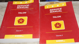 1997 EAGLE TALON Service Repair Shop Workshop Manual Set OEM FACTORY  - $9.89