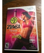 Zumba Fitness (Nintendo Wii, 2010)  With Manual Game and Case Mint Adult... - $10.95