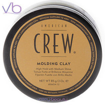 AMERICAN CREW (Molding Clay, Styling, Puck, Paste, High Hold, Medium Shi... - $12.00