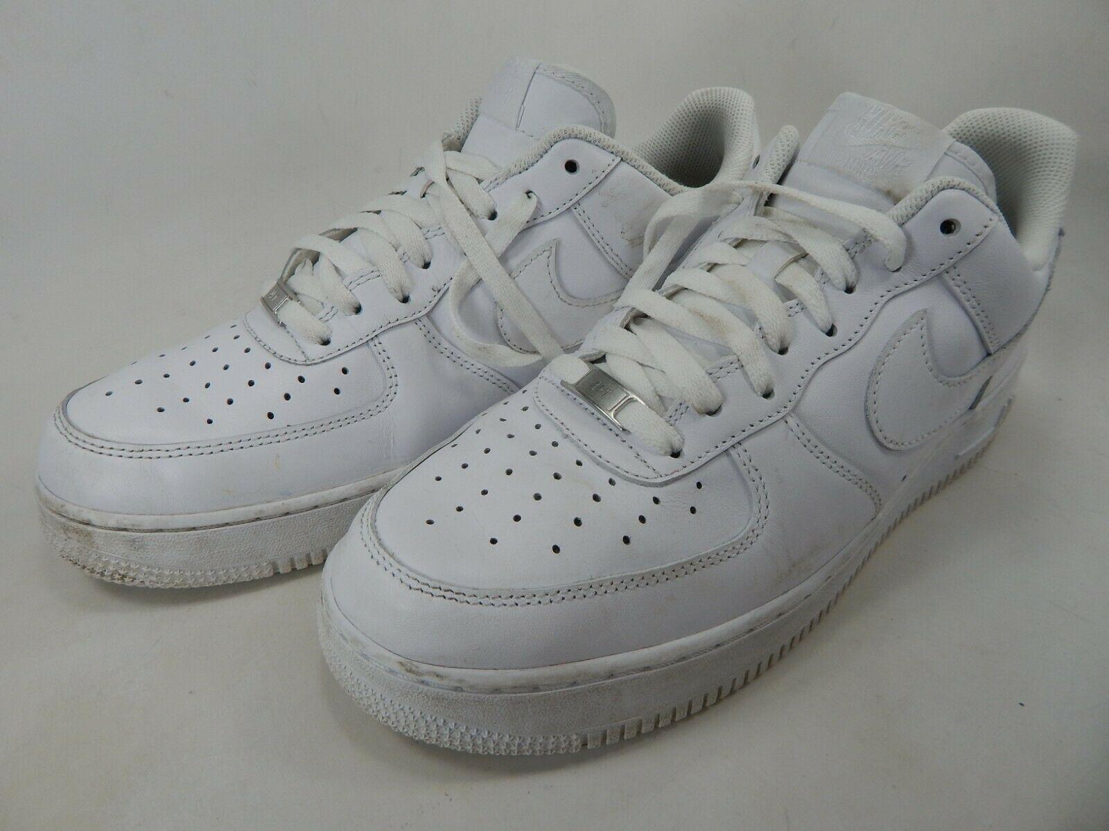 Nike Fuerza Aérea 0.3m07 Talla 10.5 M (D) Eu 44.5 Hombre Zapatillas 315122-111