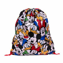 Disney Faces Drawstring Bag White - $14.98