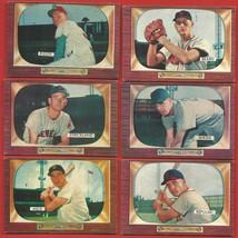 1955   BOWMAN   LOT  OF   31   BASEBALL  CARDS    VG + /  EX   !! - $149.99