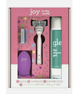 Joy & Glee Women's Razor Holiday Shave Care Gift Set - Pink, 2 Refills &... - $18.80
