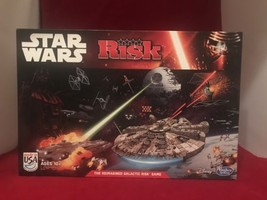 Star Wars Risk Board Game  - Disney Hasbro - Open But Complete And Unplayed - $24.19