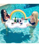 YhsBUY® Hot Rainbow Cloud Drink Cup Holder Beach Party Cooler Ice Bucket... - $37.49