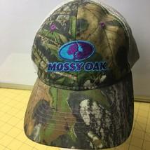 Mossy Oak Bright Blue Purple Pink Cap Hat Caps Hats Snapbacks - $15.63