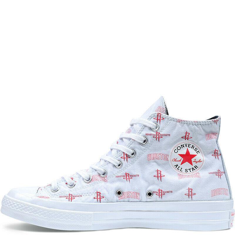 Converse Mens CTAS 70 Hi Houston Rockets Franchise Canvas 161162C Size 7.5