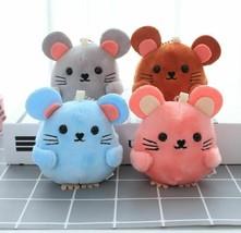 Mini cute mouse Plush toy key chain Wedding Gift Bouquet - $10.42