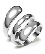 Stainless Steel Spiral Ring High Polish TK316 - $16.00