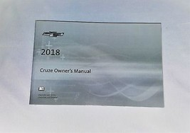 2018 Chevrolet Cruze Owners Manual 05154 - $22.72