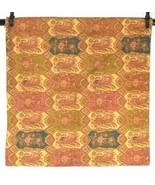 Pottery Barn Cotton Linen Paisley Floral Pillow Sham Cover Case Coral Ol... - $29.69