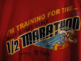 New Walt Disney World 2016 Half Marathon Training Shirt Youth Medium Donald Duck - $13.99