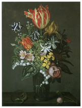 "16x20""Poster on Canvas.Home Room Interior design.Flower bouquet vase.6489 - $46.75"