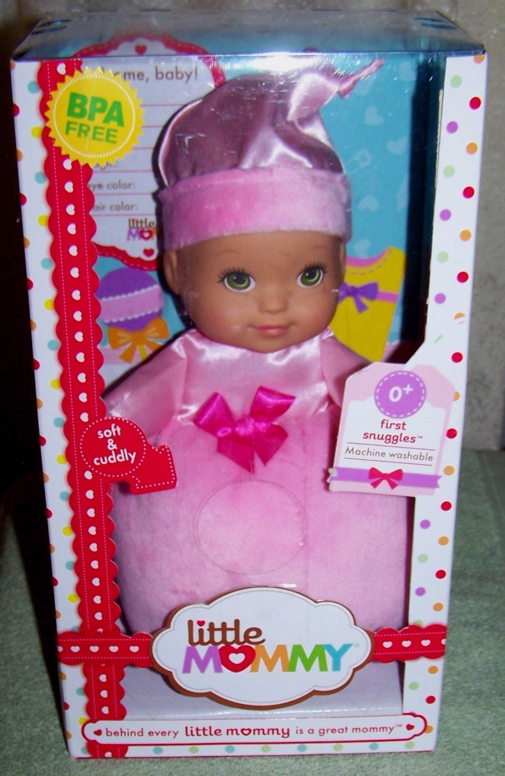 "Primary image for Little Mommy First Snuggles 10""  Baby Doll New"