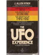The UFO Experience by J. Allen Hynek Paperback Close Encounters 1st 2nd 3rd - $49.95