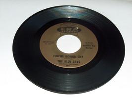 45 RPM The Azul Jays Tienes Gonna Grito Amantes Island Era Serie Record ... - $12.76