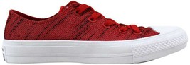 Converse Chuck Taylor All Star II 2 OX Red/Black-White 151090C Men's SZ 5 - $76.00