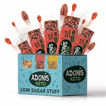 Adonis Keto Crunchy Pecan Snack Bars | 100% Natural, Low Carb, Vegan, Gl... - $20.70