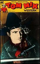 TOM MIX WESTERN #1 1988  AC COMICS -MOVIE PHOTO COVERS FN/VF - $18.62