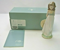 "LLADRO #8114 ""NATURAL BEAUTY"" GIRL W/SUN HAT 2005 SPECIAL EVENTS FIGURIN... - $127.99"