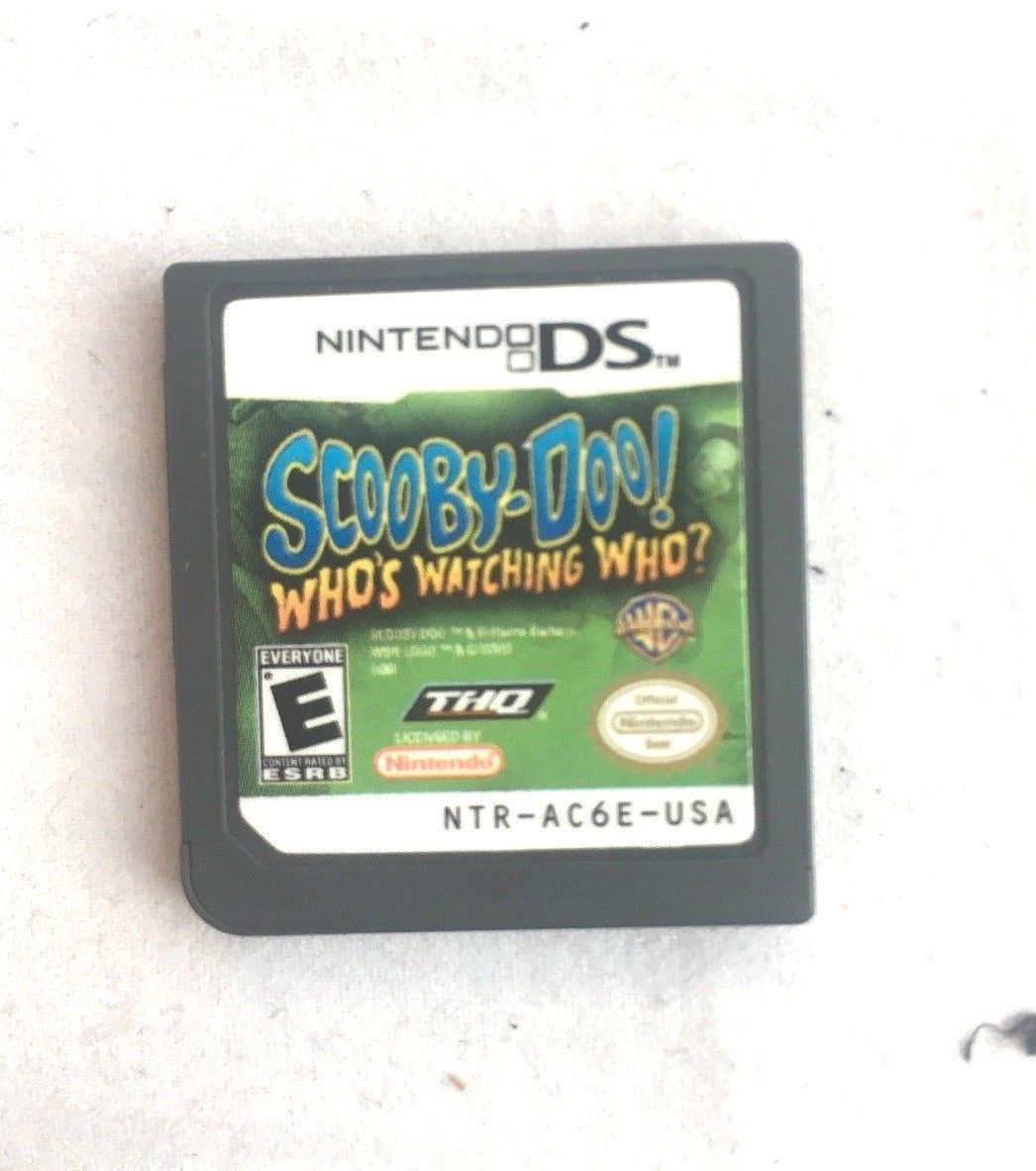 Scooby Doo Who's Watching Who Nintendo DS 2006 GAME CARTRIDGE ONLY Whos