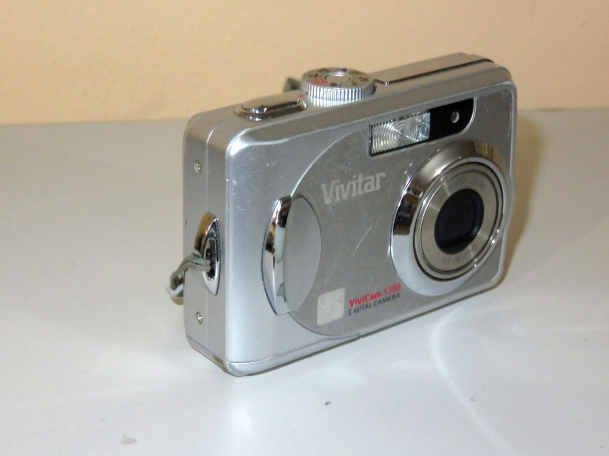 vivitar vivicam 5388 digital camera silver and 50 similar items rh bonanza com