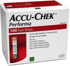 Accu-Chek Performa 100 Test Strips,Exp March 2020 - $16.75