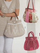 Burda Sewing Pattern 7264 Three Styles Handbag Bags Uncut Accessories - $16.68