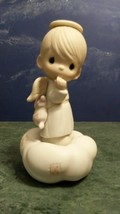 Precious Moments Vintage Figurine 12335 You Can Fly (1986) Olive Branch Excellen - $9.80