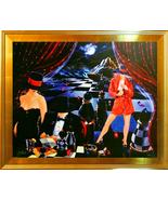 Victor Ostrovsky-Espionage Series-2 Framed Ltd Ed Hand Embellished Gicle... - $1,135.25