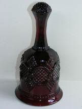 """Vintage AVON Cape Cod 1876 RUBY RED 6 1/2"""" Glass Bell Excellent Condition! - $16.00"""