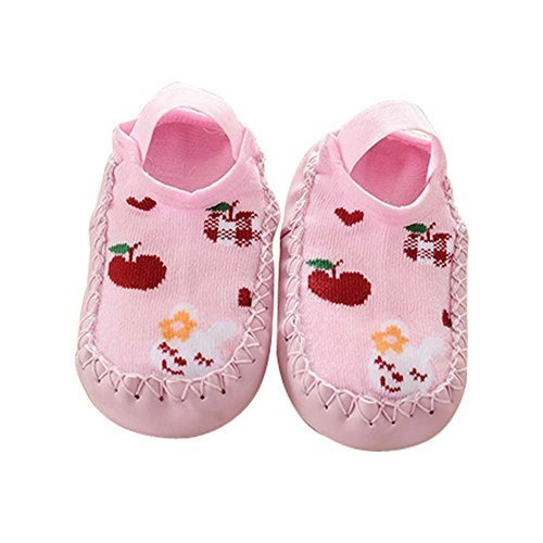 Babies Socks for Summer Newborn Baby Pre-Walker (Pink, Short)