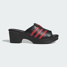 Adidas Originals Women's Lotta Volkova Trefoil Mules Black Heels FX8460 - $186.20
