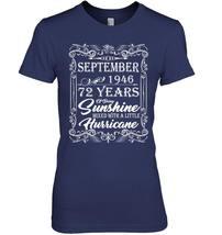 72nd Birthday Gifts September 1946 Of Being Sunshine Shirt image 2