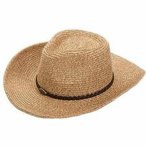PANDA SUPERSTORE Male Hat Outdoor Summer Sun Hat Beach Hat Large Brimmed Straw H image 1