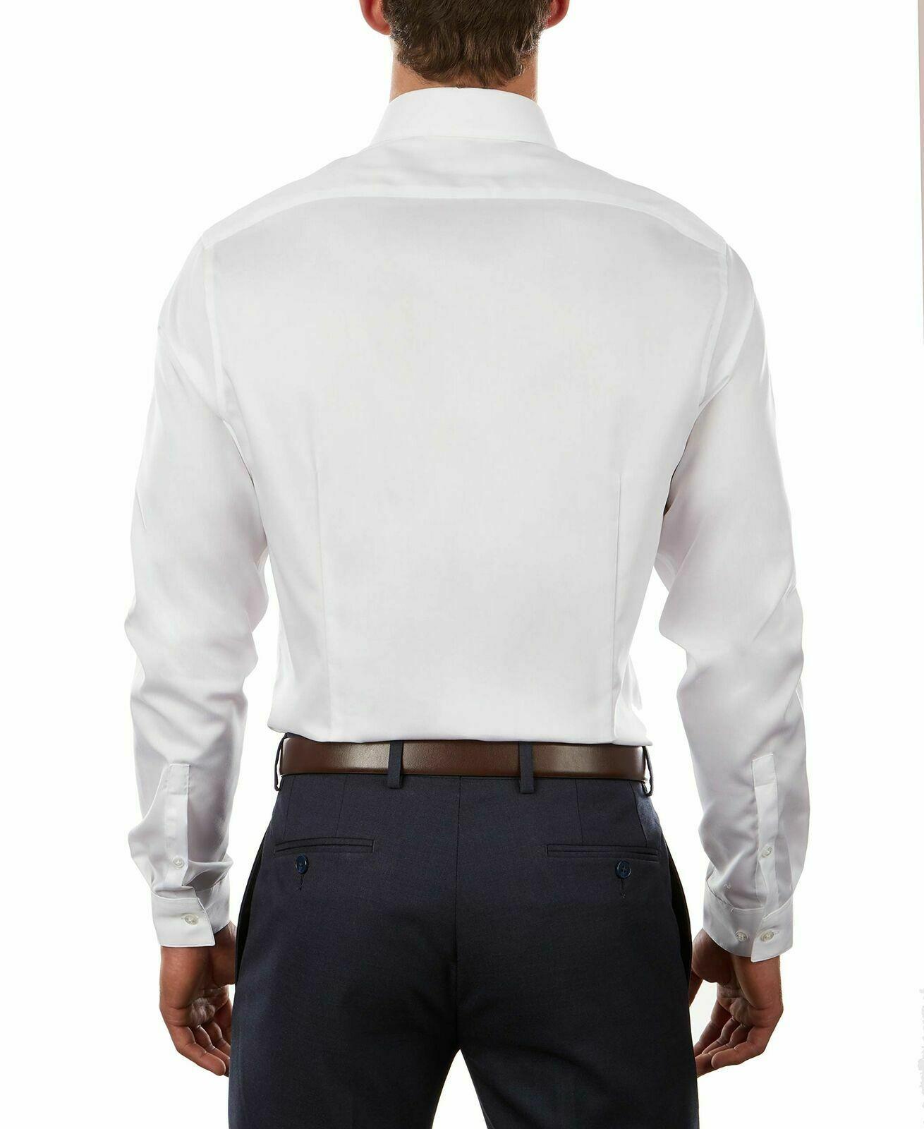 Calvin Klein Men Dress Shirt Classic White Size 13 1/2 Extreme Slim Fit SEALED!!