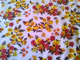 In time for Spring...Chelsea Market fabric - $8.00