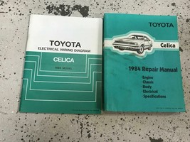 1984 Toyota Celica Service Repair Shop Workshop Manual Set W Ewd Oem - $98.95