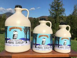 Pure Vermont Maple Syrup - Quart, 1/2 Gallon & Gallon, From Barred Woods... - $14.95+