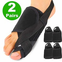 Syellowafter Bunion Brace 2 Pairs Big Toe Bunion Corrector Straightener with Ort