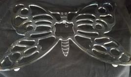 Vintage Leonard Italian Silver Plate Butterfly Trivet Wall Hanging New C... - €17,29 EUR