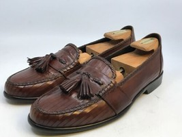 Men's Cole Haan Bragano British Tan English Calf Leather Loafers Size 11M - $99.00