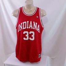 Vintage 90s Indiana Hoosiers Champion NCAA Basketball Jersey Sport Repli... - $99.99