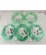 Five (5) Pc Drive Oxygen Tubing 25 Feet Each - NEW Sealed In Plastic - $9.95