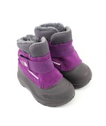 Toddler The North Face Alpenglow Boots - Icee Blue/ Q-Silver Grey Size 7 - $52.99
