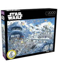 Star Wars Search Inside: Battle of Hoth 2000 Piece Jigsaw Puzzle Buffalo Poster - $49.49
