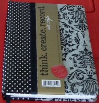 BRAND NEW Journal, Bookbound, Flocked Velvet Pattern, VERY PRETTY JOURNAL - $14.84