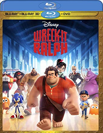 Disney Wreck-It Ralph [Blu-ray 3D + Blu-ray + DVD]