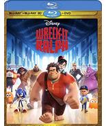 Disney Wreck-It Ralph [Blu-ray 3D + Blu-ray + DVD] - $19.95