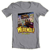 Werewolf by Night T Shirt retro 70s marvel comics Legion of Monsters graphic tee image 1
